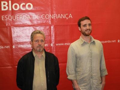 José Carlos Fonseca e Joaquim Teixeira